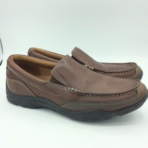 Cole Haan Grand Venetian Hughes leather loafer